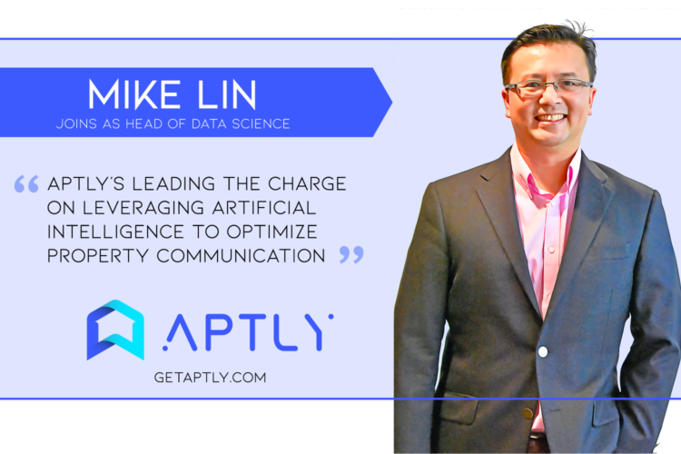 Aptly Hires Intel Data Scientist & Leading Multifamily Expert in Artificial Intelligence
