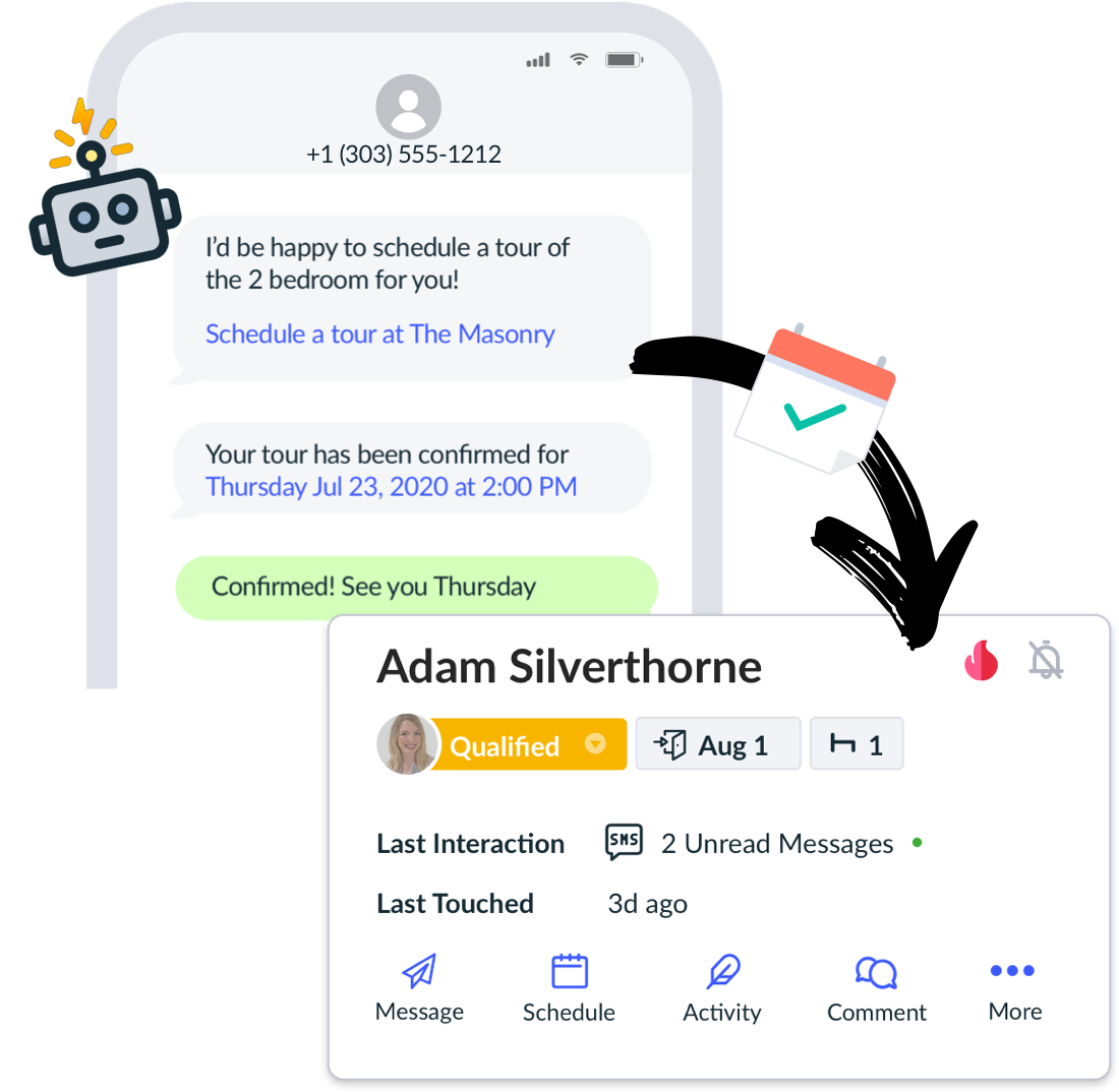 Capture and convert more leads with Bots and Automations